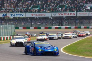 Super GT Suzuka 2013 GT300 Start 2