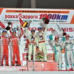 Super GT Suzuka 2013 GT500 Podium