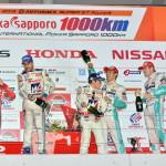 Super GT Suzuka 2013 GT500 Podium 2