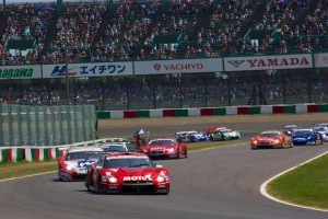 Super GT Suzuka 2013 GT500 Start 2