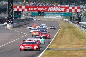 Super GT Suzuka 2013 GT500 Start