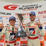 Super GT Suzuka 2013 GT500 Winners Naoki Yamamoto Frederic Makowiecki