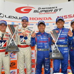 Super GT Suzuka 2013 GT500 and GT300 Winners