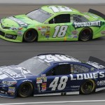 NSCS_Jimmie_Johnson_Kyle_Busch_Chicago_091513