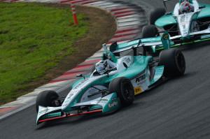 Super Formula Fuji 2013 Andre Lotterer Kazuki Nakajima