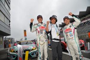 Super GT Fuji 2013 Nobuteru Taniguchi Tetsuya Kataoka