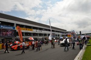 Super GT Fuji 2013 Starting Grid 2