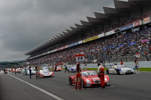 Super GT Fuji 2013 Starting Grid