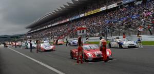 Super GT Fuji 2013 Starting Grid