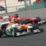 Motor Racing - Formula One World Championship - Indian Grand Prix - Race Day - New Delhi, India