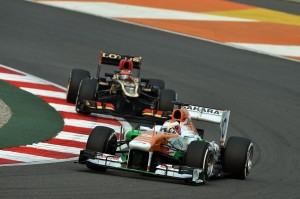 Motor Racing - Formula One World Championship - Indian Grand Prix - Race Day - New Delhi, India