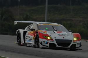 Super GT Malaysia 2013 Mugen CR-Z GT