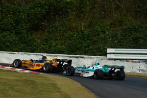 Super Formula Sugo 2013 Loic Duval Andre Lotterer