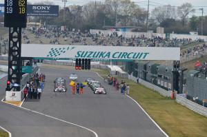 Super Formula Suzuka 2013 Grid