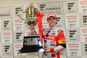 Super Formula Suzuka 2013 Naoki Yamamoto Champion