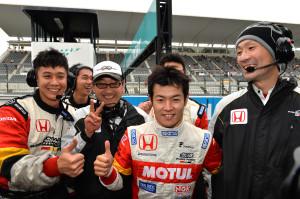 Super Formula Suzuka 2013 Naoki Yamamoto Team Mugen