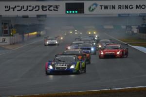 Super GT Motegi 2012 GT500 Start
