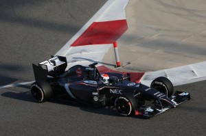 Bahrain F1 Test 19-22/02/14
