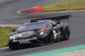 Lamborghini GT Masters 2014 Testfahrt