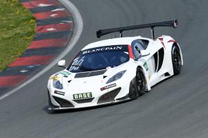 Mclaren GT Masters 2014 Testfahrt