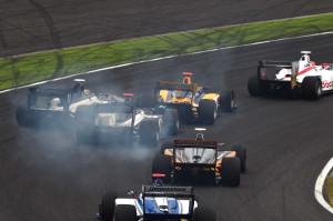 Super Formula Suzuka 2014 Start 3