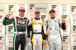 Super Formula Suzuka 2014 Top 3