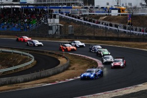Super GT GT500 Okayama Test Start Practice