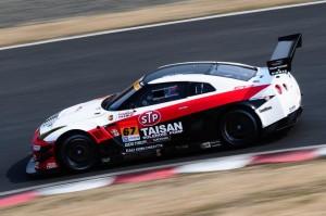 Super GT Taisan GT-R GT3 Okayama Test 2014