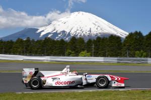 Super Formula Fuji Speedway 2014 Hideki Mutoh