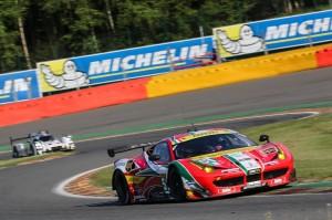 Gianmaria Bruni (ITA) / Toni Vilander (FIN) driving the #51 LMGTE PRO AF Corse (ITA) Ferrari F458 Italia