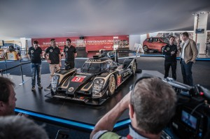 Unveiling of LMP1 T129 Lotus