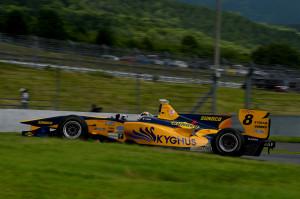Super Formula Fuji Speedway 2014 Andrea Caldarelli