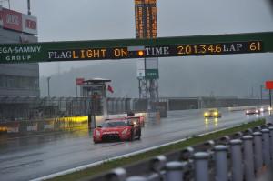 Super GT Fuji 2011 Red Flag