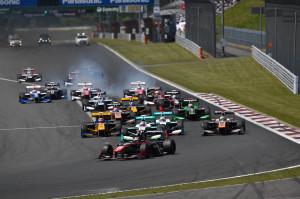 Super Formula Fuji Speedway 2014 Race 1 Start 2