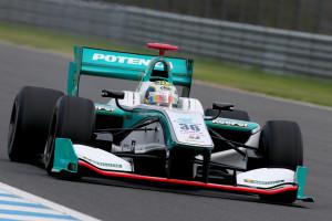 Super Formula Motegi 2014 Andrea Caldarelli