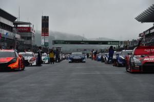 Super GT Fuji 2014 Grid