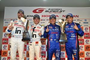 Super GT Fuji 2014 Winners