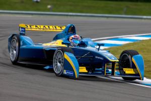 2. E.dams-Renault driver Sebastien Buemi set the pace