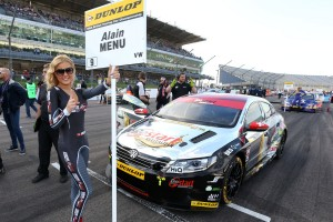 Alain Menu (SUI) CHROME Edition Restart Racing Volkswagen CC