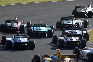 Super Formula Sugo 2014 Start 2