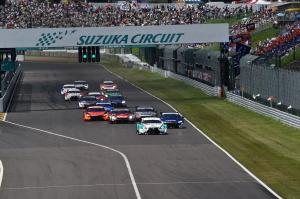 Super GT Suzuka 2014 GT500 Start