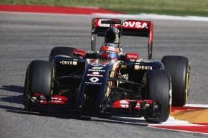 Circuit of the Americas, Austin, Texas, United States of America.Saturday 1 November 2014.Romain Grosjean, Lotus E22 Renault.World Copyright: Steven Tee/Lotus F1.ref: Digital Image _X0W4480