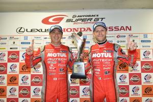 Super GT Motegi 2014 Tsugio Matsuda Ronnie Quintarelli