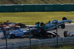 Super Formula Sugo Joao Paulo de Oliveira Crash
