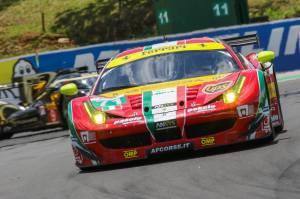 Davide Rigon (ITA) / James Calado (GBR) / Car #71 LMGTE PRO AF Corse (ITA) Ferrari F458 Italia - 6 Hours of Sao Paulo at Interlagos Circuit - Sao Paulo - Brazil