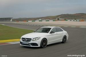 Mercedes-AMG C 63 S    designo diamantweiß bright