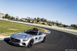 Mercedes-AMG GT S als Official Safety Car der FIA Formel 1 Weltm