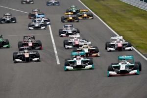 Super Formula Suzuka 2015 Start 2