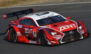 Super GT 2015 Okayama Test Zent Cerumo RC F