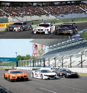 Super GT GT500 DTM Difference